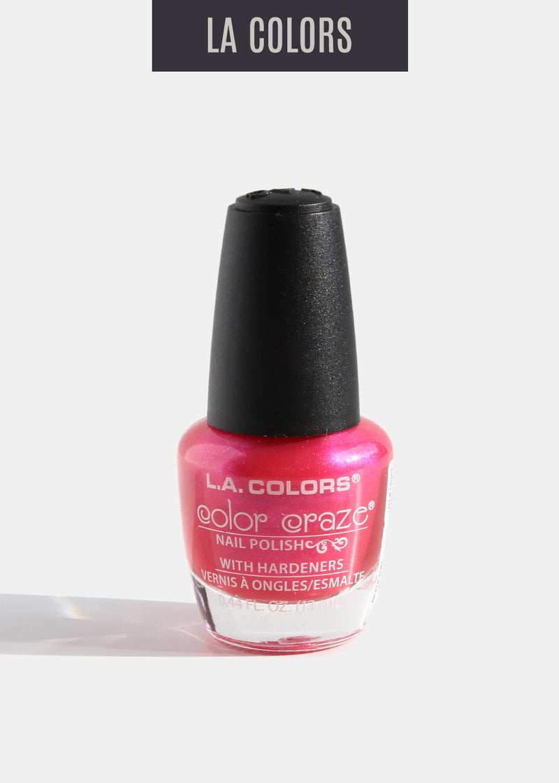 L.A. Colors - Color Craze Nail Polish - Fuel