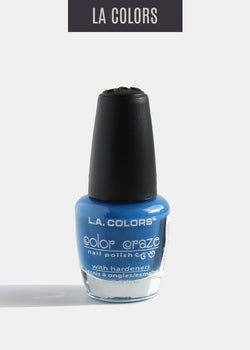L.A. Colors - Color Craze Nail Polish - Static Electricity