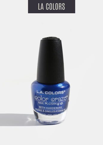 L.A. Colors - Color Craze Nail Polish - Wired