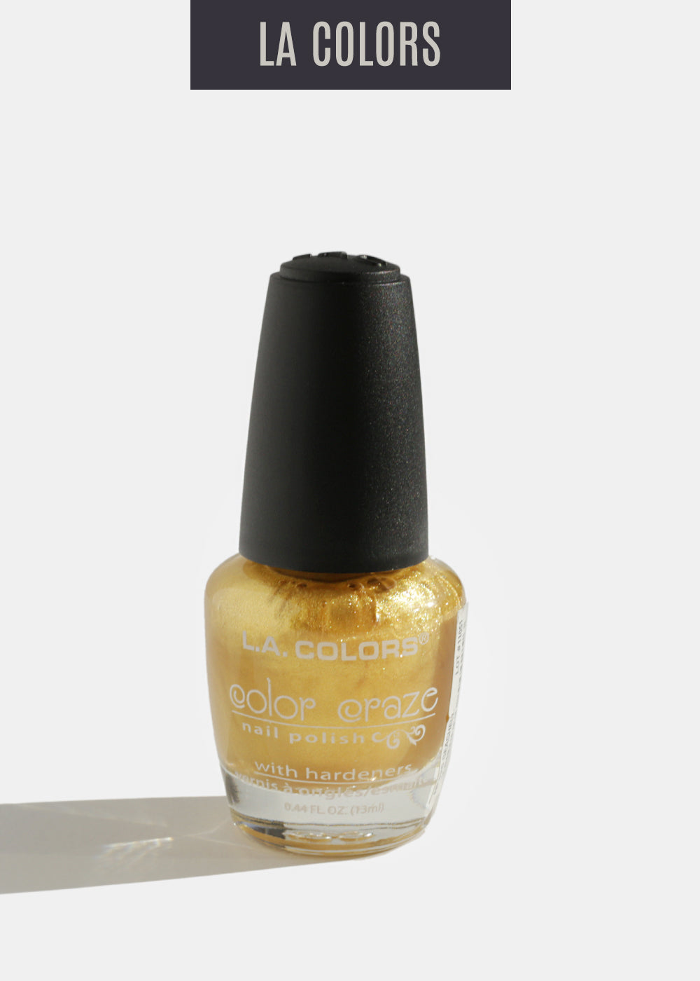 L.A. Colors - Color Craze Nail Polish - Seashell