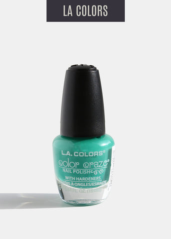L.A. Colors - Color Craze Nail Polish - Palm Tree