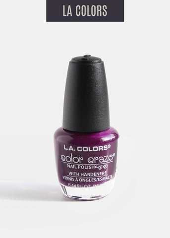 L.A. Colors - Color Craze Nail Polish - Fiji Purple