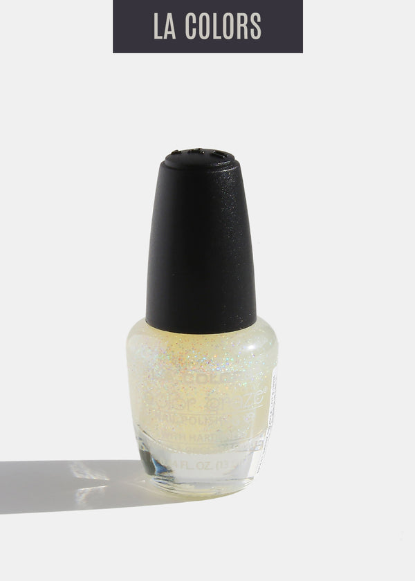 L.A. Colors - Color Craze Nail Polish - Sassy Sparkle