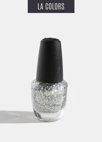 L.A. Colors - Color Craze Nail Polish - Sparkling Diamonds