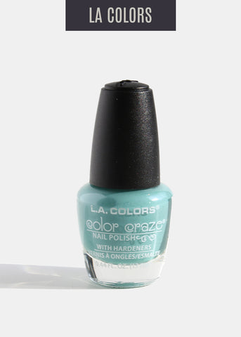 L.A. Colors - Color Craze Nail Polish - Sea Foam