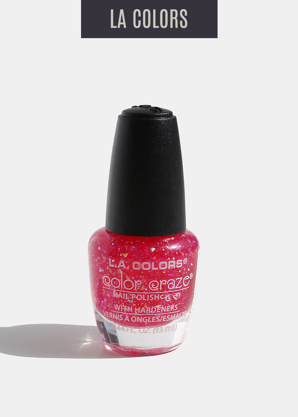 L.A. Colors - Color Craze Nail Polish - Broken Hearted