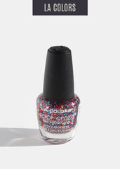 L.A. Colors - Color Craze Nail Polish - Confetti