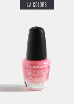L.A. Colors - Color Craze Nail Polish - Pumpin' Pink