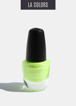 L.A. Colors - Color Craze Nail Polish - Lime Life