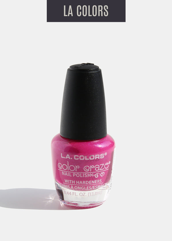 L.A. Colors - Color Craze Nail Polish - Bam!