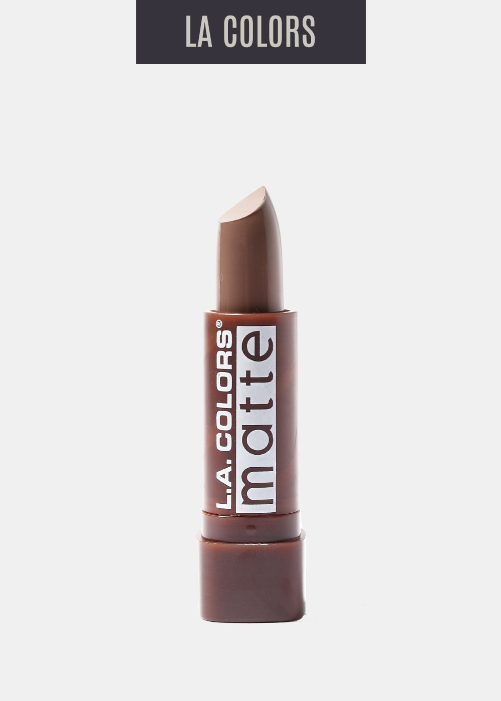 L.A. Colors- Matte Lipstick- Brown Sugar