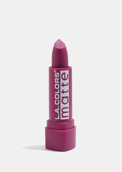 L.A. Colors - Matte Lipstick - Purple Passion