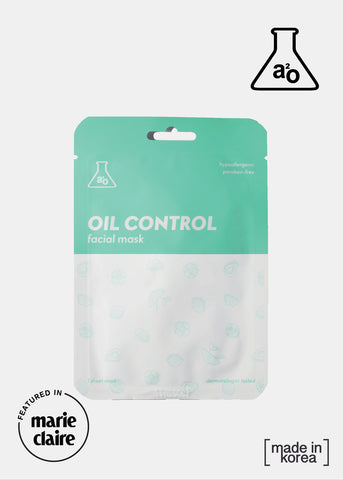 a2o Lab Facial Mask - Oil Control