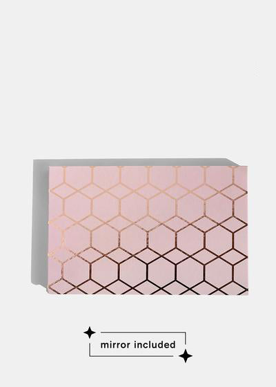 a2o Lab Empty Magnetic Palette - Large Rose Gold