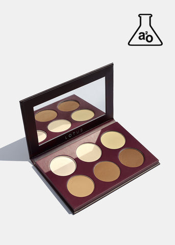 a2o Lotus Sculpting Contour Palette