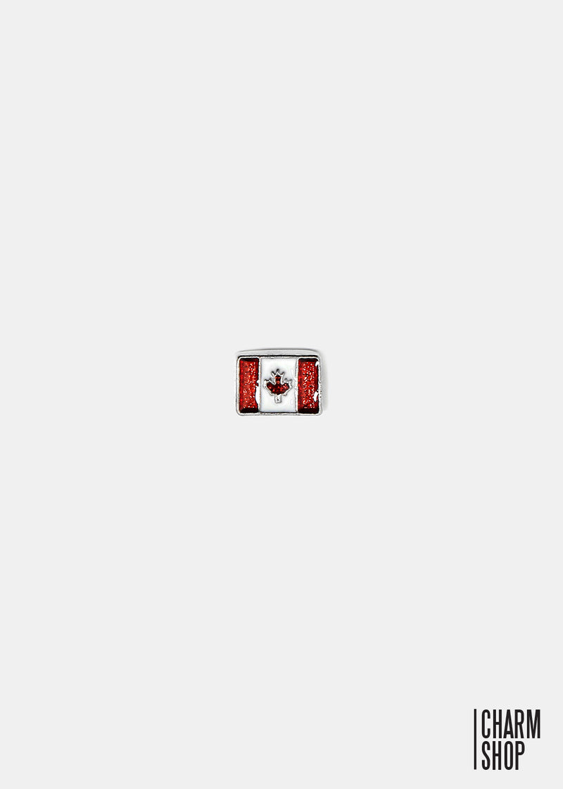 Canada Flag Locket Charm