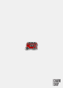 London Double Decker Bus Locket Charm