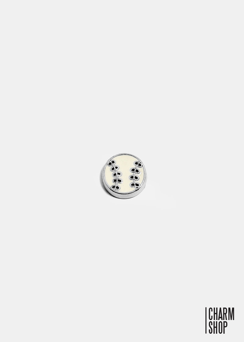 Baseball Locket Charm