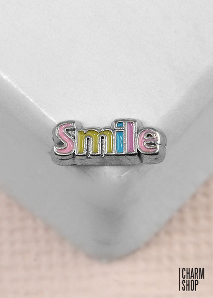 Smile Locket Charm