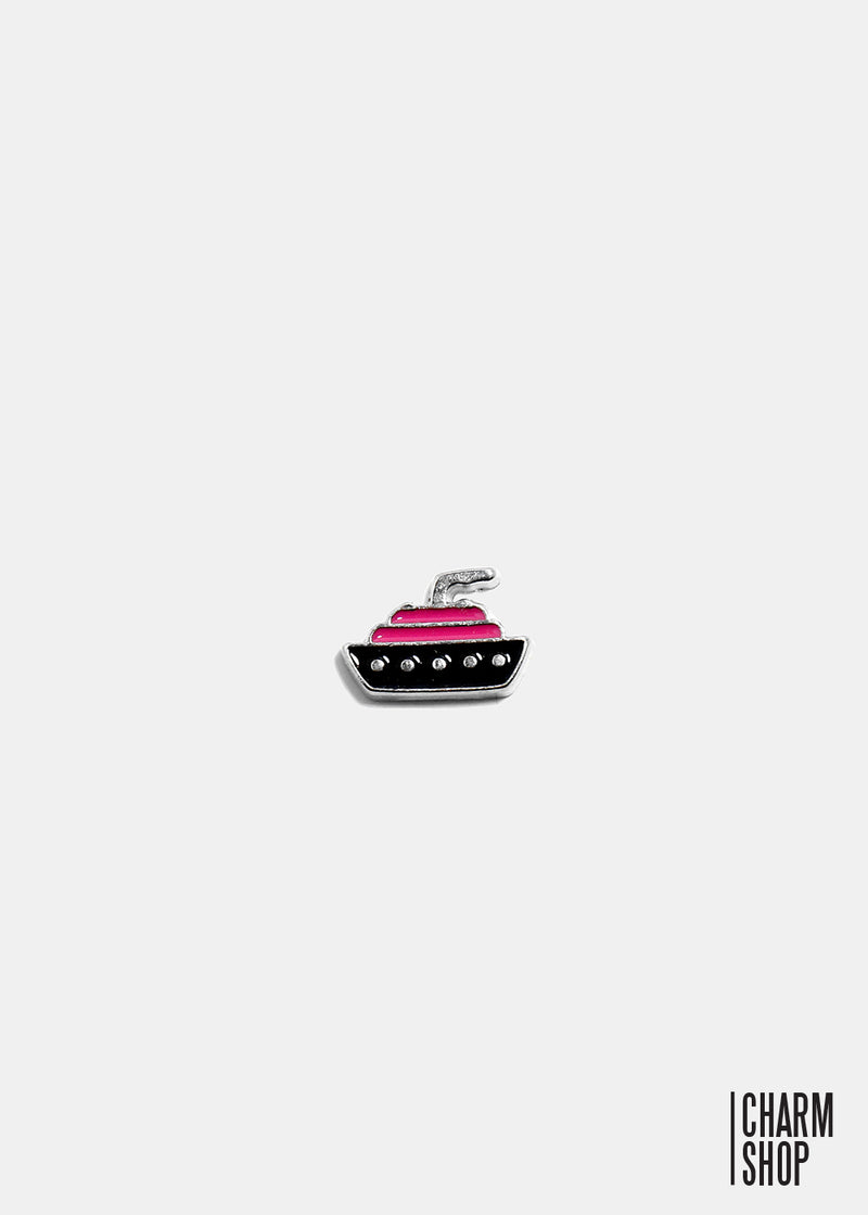 Cruise Ship Locket Charm