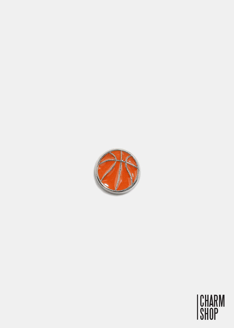 Basketball Locket Charm