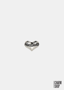 Husband Heart Locket Charm