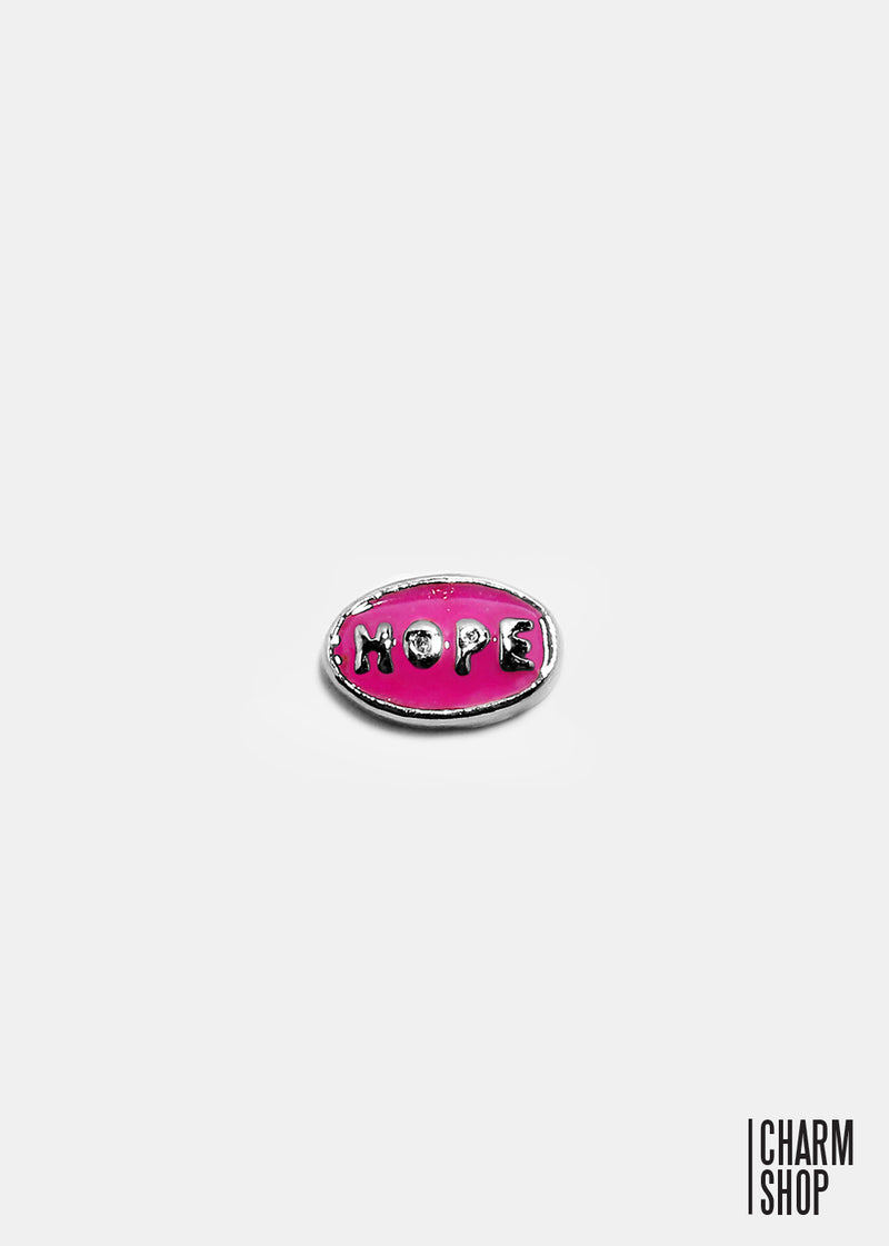 Pink Hope Locket Charm