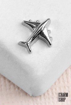 Airplane Locket Charm