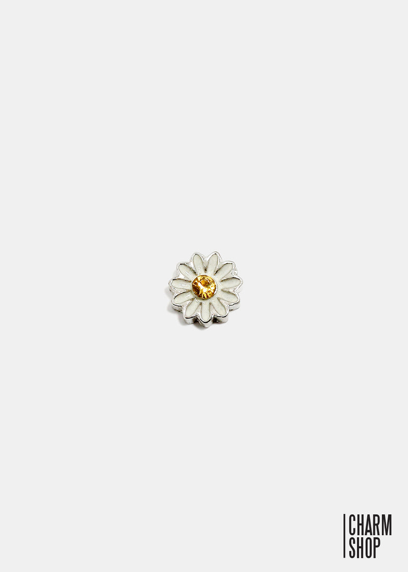 Daisy Locket Charm
