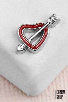 Cupid's Arrow Locket Charm