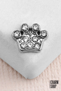 Crown Locket Charm