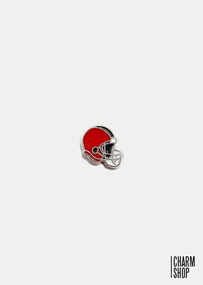 Football Helmet Locket Charm
