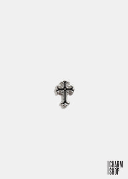 Vintage Silver Cross Locket Charm