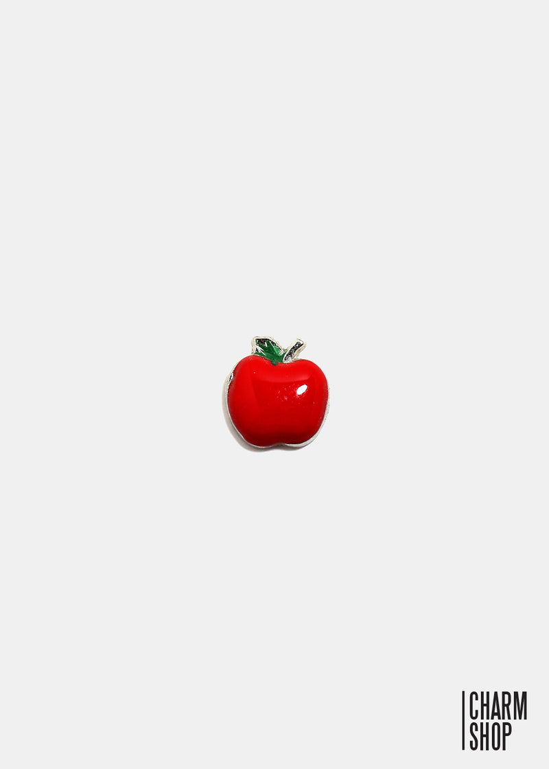 Juicy Red Apple Locket Charm