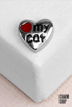 Cat Lover Locket Charm