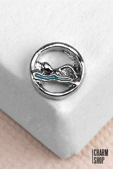 Swimmers Locket Charm