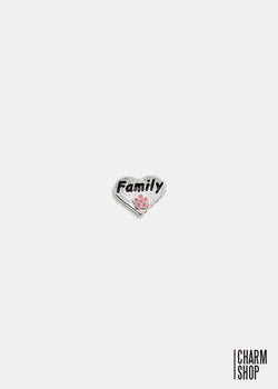 Heart Family Locket Charm