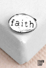 Faith Locket Charm