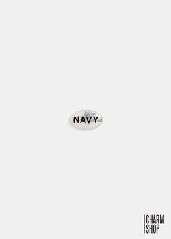 Navy Locket Charm