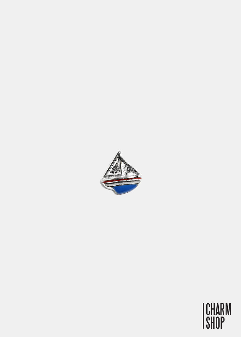 Sailboat Locket Charm