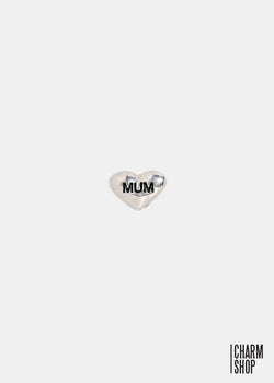 Mum Heart Locket Charm