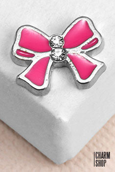 Sweet Bow Locket Charm
