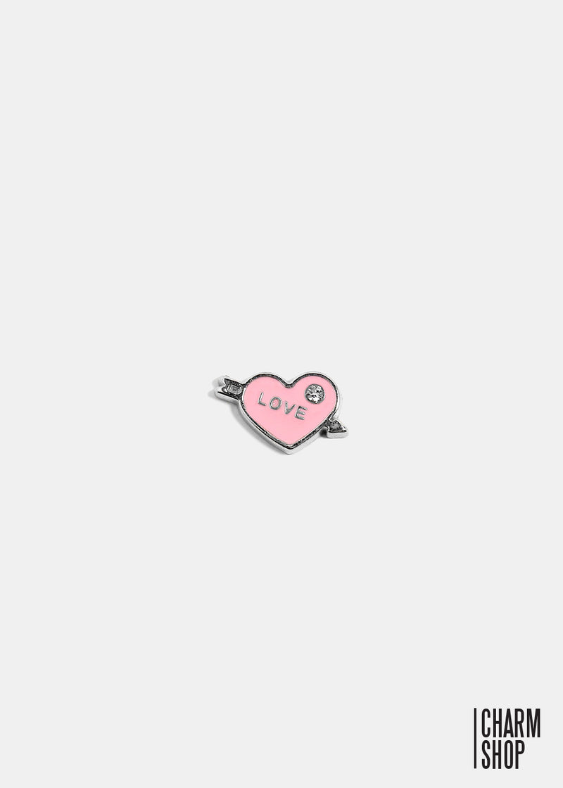 Love Heart Locket Charm