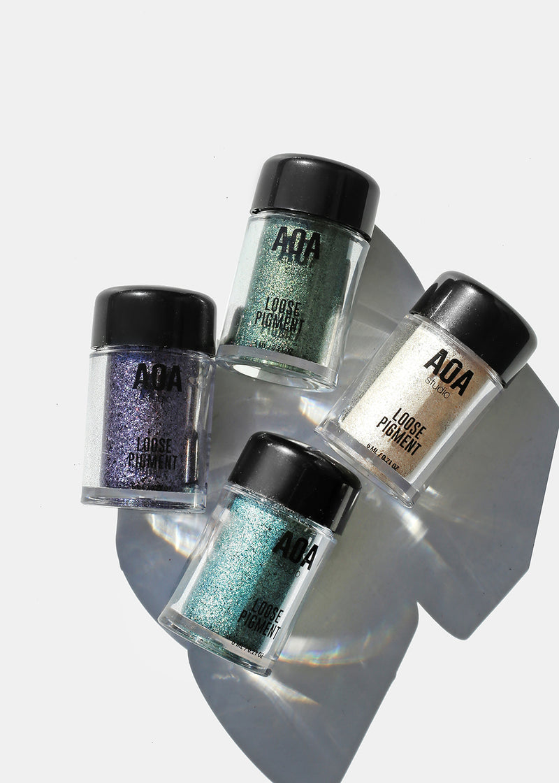 AOA Loose Pigment Powders- Cool Tones