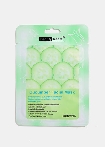 Cucumber Facial Sheet Mask