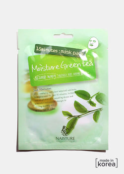 15-Minute Facial Mask - Moisture Green Tea