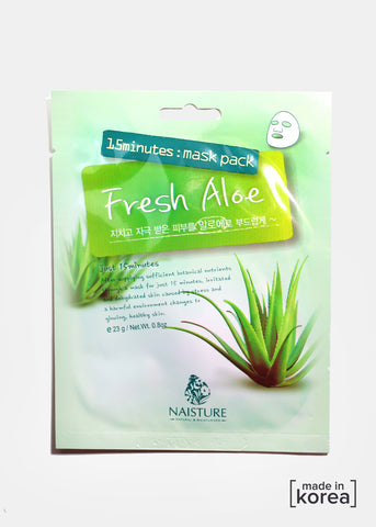 15-Minute Facial Mask - Fresh Aloe