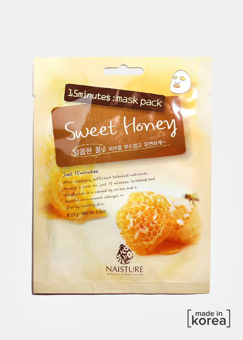 15-Minute Facial Mask - Sweet Honey