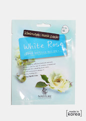 15-Minute Facial Mask - White Rose