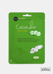 Cucumber Soothe & Soften Facial Sheet Mask